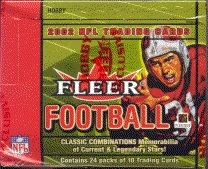2002 Fleer Football Hobby Box