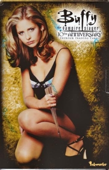 Buffy The Vampire Slayer 10th Anniversary Hobby Box (InkWorks 2007)