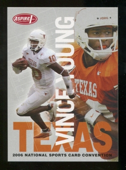 2006 Sage Aspire Vince Young Rookie National Exclusive- 100 Card Lot