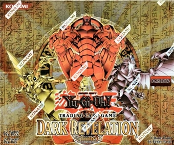 Upper Deck Yu-Gi-Oh Dark Revelation Series 3 Booster Box