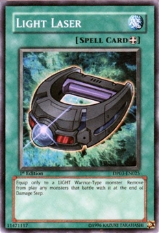 Yu-Gi-Oh Jaden 2 1st Edition Single Light Laser Super Rare