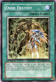 Yu-Gi-Oh Duelist Aster Phoenix Single 3x Over Destiny Super Rare