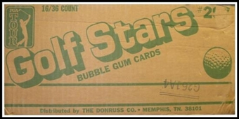 1981 Donruss Golf Wax 16-Box Case