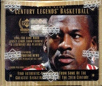 1998/99 Upper Deck Century Legends Basketball Hobby Box (EX Box, MINT Packs)