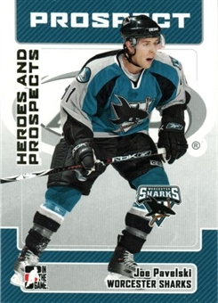 2006/07 ITG Heroes & Prospects Update #151 Joe Pavelski 10 Card Lot