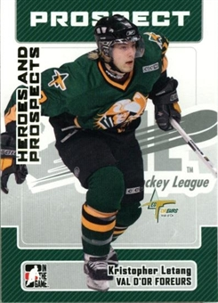 2006/07 ITG Heroes & Prospects Update #193 Kristofer Letang 10 Card Lot
