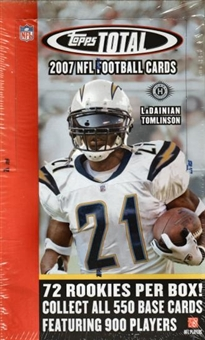 2007 Topps Total Football Hobby Box