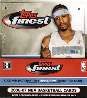 2006/07 Topps Finest Basketball Hobby Box