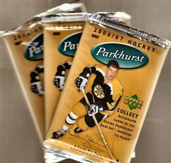 2006/07 Upper Deck Parkhurst Hockey Hobby Pack
