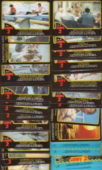 Jaws 2 Complete Trading Card Set (1978 O-Pee-Chee)
