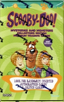 2008 Scooby Doo Mysteries & Monsters Hobby Box (Inkworks)