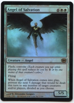 Magic the Gathering Future Sight Single Angel of Salvation FOIL