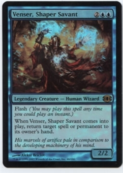 Magic the Gathering Future Sight Single Venser, Shaper Savant FOIL - SLIGHT PLAY (SP)