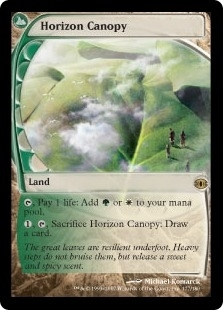 Magic the Gathering Future Sight Single Horizon Canopy FOIL NEAR MINT (NM)