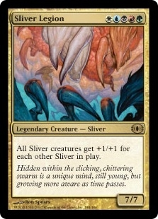 Magic the Gathering Future Sight Single Sliver Legion UNPLAYED (NM/MT)