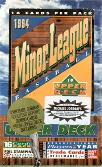 1994 Upper Deck Minor League Baseball Jumbo Box