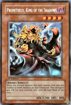 Yu-Gi-Oh Force of the Breaker Single Prometheus, King of the Shadows Secret