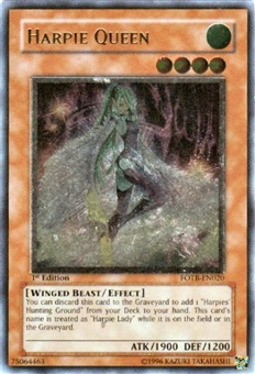 Yu-Gi-Oh Force of the Breaker Single Harpie Queen Ultimate Rare