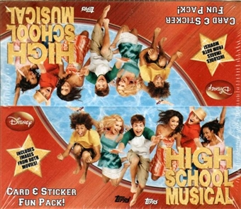 High School Musical Hobby Box (2007 Topps)