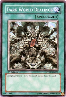 Yu-Gi-Oh Strike of Neos Single Dark World Dealings Super Rare