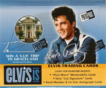 Elvis IS 24-Pack Box (2007 Press Pass)