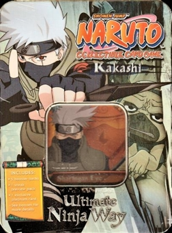 Naruto Kakashi Collectible Tin (Box) (Bandai)