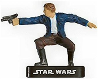 Star Wars Mini Alliance and Empire Han Solo, Rogue Figure