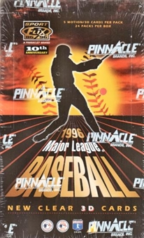 1996 Pinnacle Sportflix Baseball Hobby Box