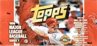 1998 Topps Series 1 Baseball Jumbo Box