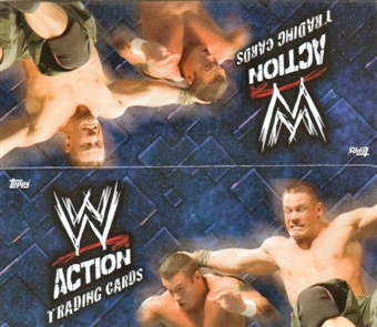 2007 Topps WWE Action Cards Wrestling Hobby Box