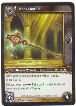 WoW Molten Core Single Benediction (MOL-16) FOIL