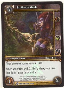WoW Molten Core Single Strikers Mark (MOL-29) FOIL