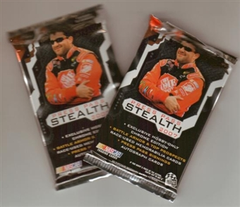 2007 Press Pass Stealth Racing Hobby Pack