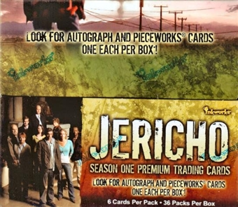 Jericho Season One Hobby Box (2007 InkWorks)
