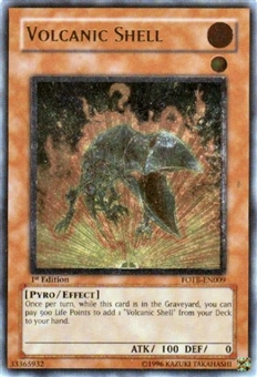 Yu-Gi-Oh Force of the Breaker Single Volcanic Shell Ultimate Rare