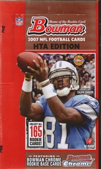 2007 Bowman Football Jumbo Box