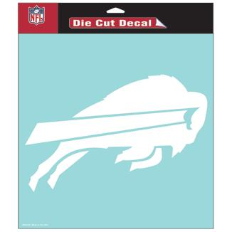 "Buffalo Bills Football Wincraft 8"" x 8"" Die Cut Decal"