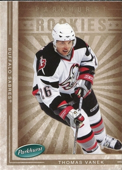 2005/06 Upper Deck Parkhurst #610 Thomas Vanek RC Rookie Card