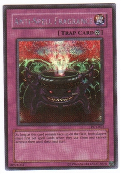 Yu-Gi-Oh Promo Single Anti-Spell Fragrance Secret Rare (PCY-002)