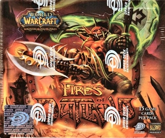 World of Warcraft Fires of Outland Booster Box