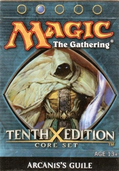Magic the Gathering 10th Edition Arcanis's Guile Theme Deck