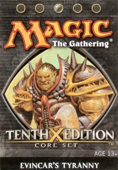 Magic the Gathering 10th Edition Evincar's Tyranny Theme Deck