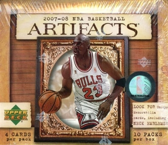 2007/08 Upper Deck Artifacts Basketball Hobby Box