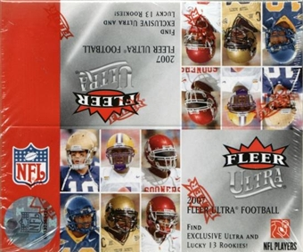 2007 Fleer Ultra Football 24-Pack Box