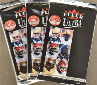 2007 Fleer Ultra Football Retail Pack