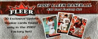 2007 Fleer Baseball Factory Set (Box)