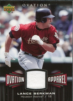 2006 Upper Deck Ovation Apparel #LB Lance Berkman Jersey