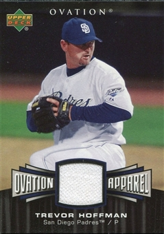 2006 Upper Deck Ovation Apparel #TH Trevor Hoffman Jersey