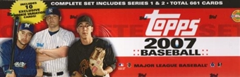 2007 Topps Factory Set Baseball Holiday (Box)