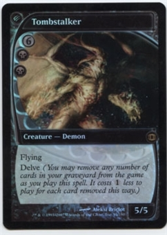Magic the Gathering Future Sight Single Tombstalker FOIL